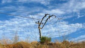 Linea ferroviaria Fotografia Stock Libera da Diritti