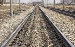 Linea ferroviaria immagine stock