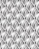 Linea geometrica di orienal floreale senza cuciture del modello di Abstact Immagini Stock Libere da Diritti