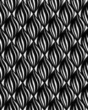 Linea geometrica t di orienal floreale senza cuciture del modello di Abstact Fotografia Stock Libera da Diritti