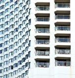 linea grattacielo dei palazzi del distretto del terrazzo di Bangkok Immagini Stock