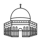 Linea icona - vettore della moschea iconico royalty illustrazione gratis