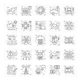 Linea icone con il dettaglio 17 illustrazione vettoriale