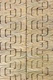 Linea mattonelle di lerciume del cemento della via Fotografie Stock
