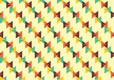 Linea modello senza cuciture del triangolo di Combi Fotografia Stock Libera da Diritti