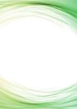 Linea molle luminosa disposizione del certificato del confine Fotografia Stock
