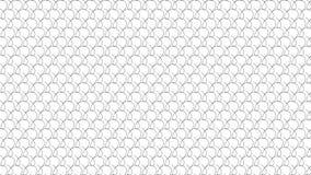 Linea monocromatica semplice modello di rotazione Fotografie Stock