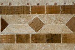 Linea mosaico Fotografia Stock