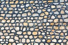 linea nell'estratto ceramico del pavimento del Marocco Africa Fotografia Stock