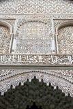 linea nelle mattonelle del Marocco e nell'estratto colorated Fotografie Stock Libere da Diritti