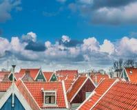 Linea olandese del cielo Fotografia Stock Libera da Diritti
