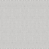 Linea ondulata senza cuciture modello Immagini Stock