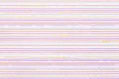 Linea orizzontale fondo di struttura del tessuto Fotografia Stock Libera da Diritti