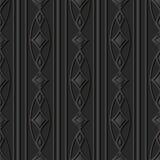 linea ovale Diamond Gem della pagina dell'incrocio della curva di arte di carta scura 3D Fotografia Stock Libera da Diritti