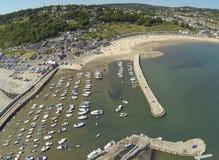 Linea porto di Regis Fotografie Stock Libere da Diritti
