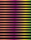 Linea progettazione nelle pendenze metalliche di colore Fotografie Stock Libere da Diritti