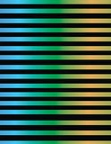 Linea progettazione nelle pendenze metalliche di colore Fotografia Stock Libera da Diritti