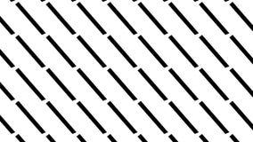 Linea punteggiata modello di monocromio semplice Immagini Stock