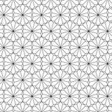 Linea raccolta del modello del grafico Fotografia Stock