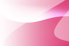 Linea rosa e bianca fondo della curva Immagine Stock