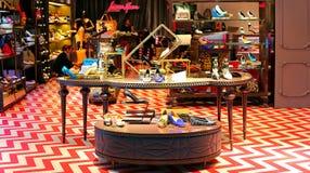 Linea rosa footwear retail shop, macau royalty free stock image
