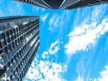 Linea scape del cielo del cielo Fotografie Stock Libere da Diritti