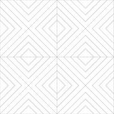 Linea senza cuciture Art Vector Pattern Design Immagine Stock Libera da Diritti