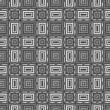 Linea senza cuciture ornamentale modello Fotografia Stock