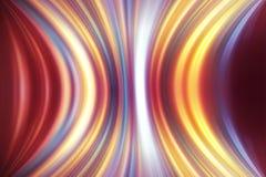 Linea sfocata linee futuristiche di pendenza del fondo dell'arcobaleno Fotografia Stock Libera da Diritti