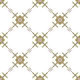 Linea sottile minimalismo geometrico dell'ornamento di vettore del modello di progettazione senza cuciture del tessuto illustrazione vettoriale