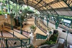 Linea stazione, Hong Kong di Disneyland Resort Fotografie Stock