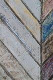 Linea struttura del cemento di colore Fotografia Stock