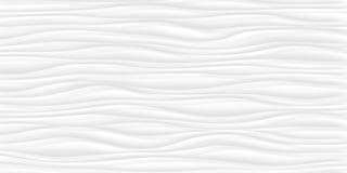 Linea struttura di bianco modello astratto grigio senza cuciture Na ondulato dell'onda Immagine Stock
