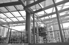 Linea strutture urbana fotografie stock