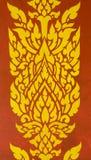 Linea tailandese art. Fotografie Stock
