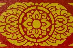Linea tailandese art. Fotografia Stock Libera da Diritti