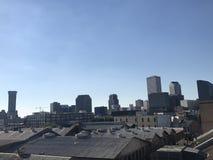 Linea timida di New Orleans Fotografie Stock