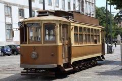 Linea tranviaria a Oporto Immagine Stock Libera da Diritti