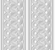 linea trasversale rotonda della pagina del triangolo di arte del Libro Bianco 3D Fotografia Stock Libera da Diritti