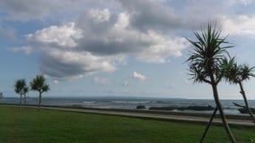 Linea tropicale lasso di tempo della costa della spiaggia archivi video