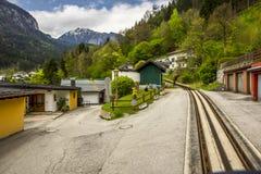 Linea turistica del treno di Zillertal di Austria Fotografia Stock Libera da Diritti
