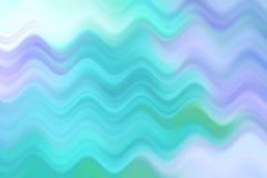 Linea vaga dell'onda, fondo astratto variopinto Immagini Stock