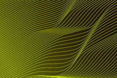 Linea Verde astratta Fotografia Stock