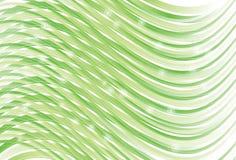 Linea Verde d'ondeggiamento priorità bassa della curva Immagine Stock Libera da Diritti