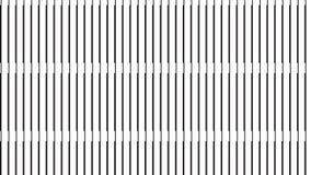 Linea verticale nera moderna semplice modello Fotografie Stock Libere da Diritti