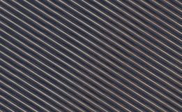 Lineair achtergrond abstract zwart geel strepen geometrisch patroon Stock Foto's