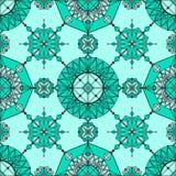 Lineair geometrisch behang Stock Foto