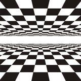 Lineair perspectief Royalty-vrije Illustratie