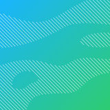 Linear background with green gradient Stock Photos