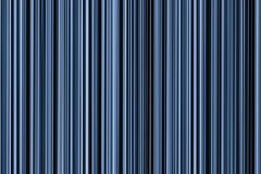 Linear blue ribbed background vertical stripes parallel infinite lines base gradient pattern poster Stock Photos